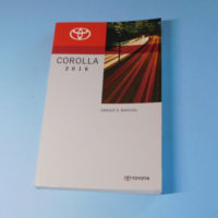 2016 Toyota Corolla Factory Owners Owner s Manual EBay