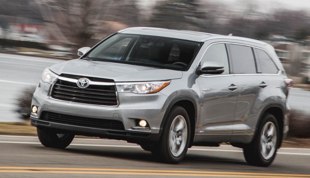 2016 Toyota Highlander Owners Manual PerformanceAutomi